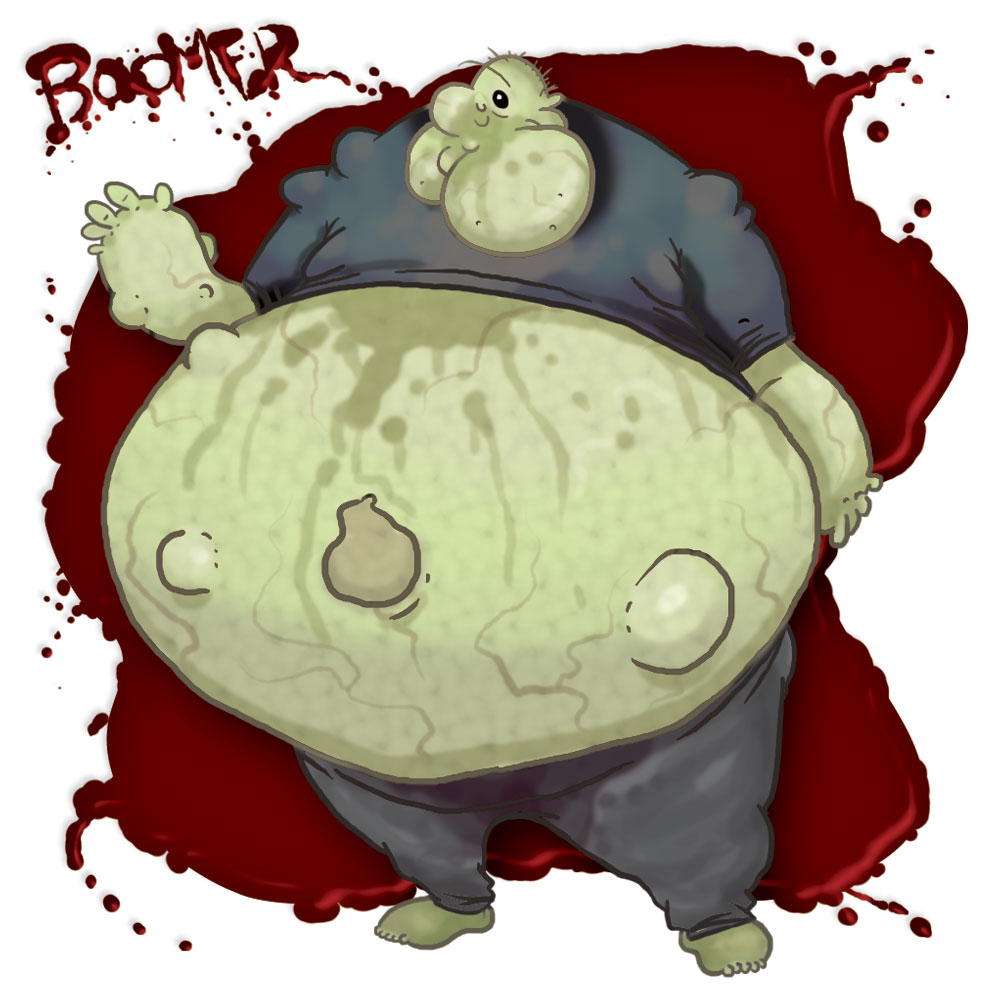 Left 4 Dead 2 infected zombie  Boomer