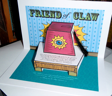 Friend of CLAW #2 by #3