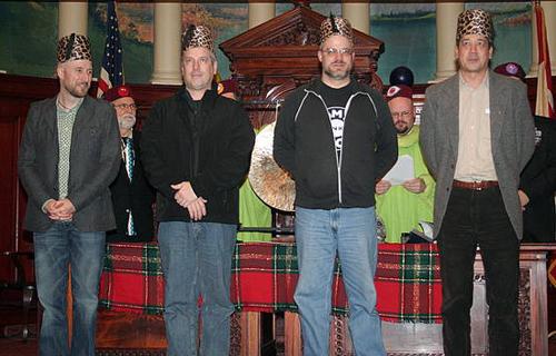 Kevin Freitas, Warren Caves, John Munn and Dave L. Photo by Kevin Freitas