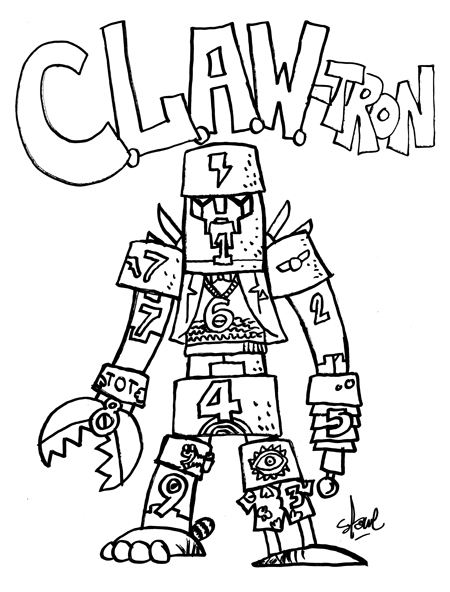 CLAW-tron by James Stowe
