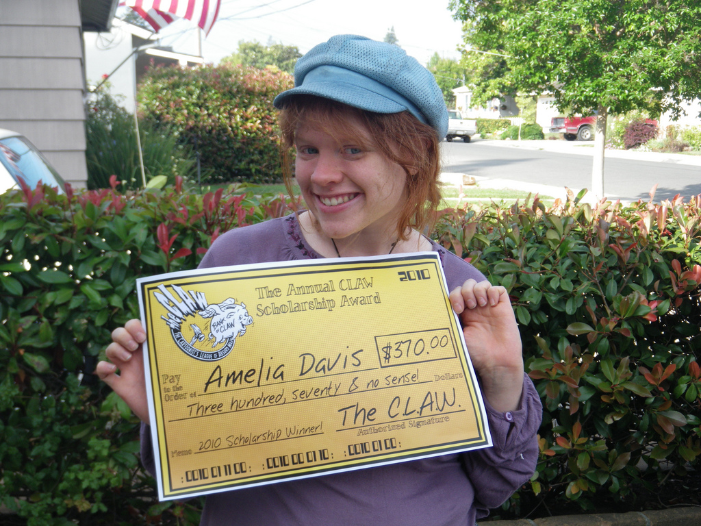 Amelia Davis 2010 Young Cartoonist of the Future Scholarship Winner!