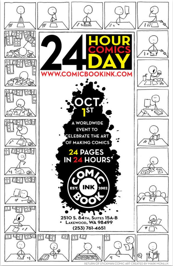24hr Comic Book Day 2011