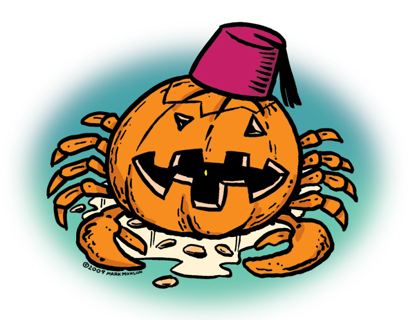 Pumpkin Crab by Mark Monlux