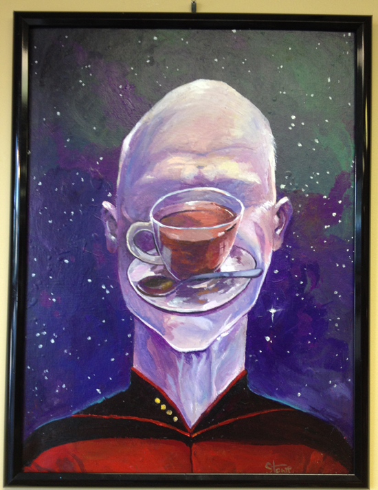"Earl of Grey"" by James Stowe NFS Received the Earl Grey Tea, Hot Award [Star Trek Double Feature Movie Bundle]"