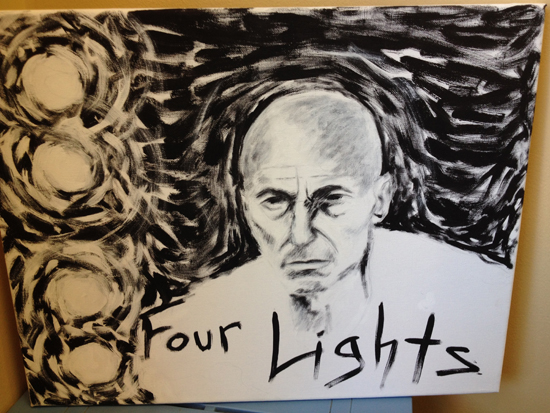 "21)""Four Lights, Bitch"" by A.Kay Lindsay $40"