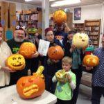 CARVING festival of pumpkins